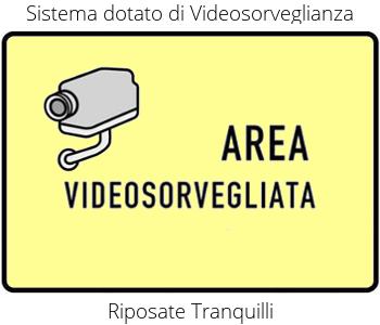 Dotato di Videosorveglianza